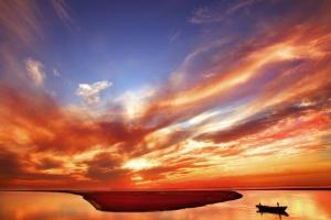 盘锦红海滩(五)   作者:刘春喜