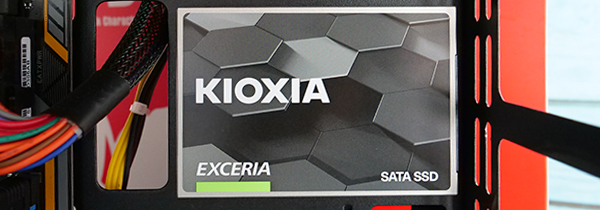 源于东芝储存 铠侠EXCERIA SATA SSD图赏