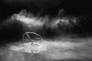 雾江印象2   作者:南塘河