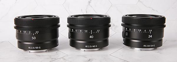 索尼50mm/40mm/24mm全画幅G镜头图赏
